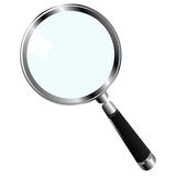 Magnifying glass. Illustration of a magnifying glass over white background Royalty Free Stock Photo
