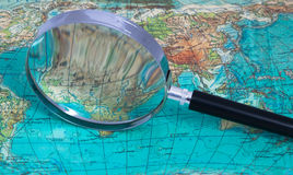 Magnifying Glass Royalty Free Stock Photo