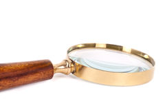 Magnifying glass. Stock Photos