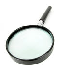 Magnifying Glass. Isolated Stock Image