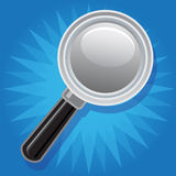 Magnifying glass, Stock Photography