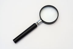 Magnifying glass. Magnifying glass on a white background Stock Photography