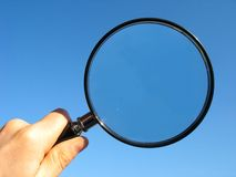 Free Magnifying Glass Royalty Free Stock Photography - 3978837