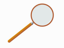 Magnifying glass. Stock Photography