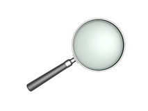 Magnifying glass. Isolated on white background Stock Images