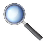 Magnifying glass. An illustration of a magnifying glass Stock Photo