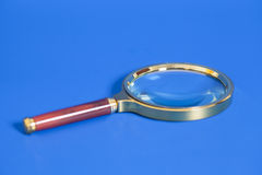 Magnifying glass Royalty Free Stock Photography