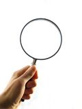 Magnifying Glass Clipping Path Royalty Free Stock Image