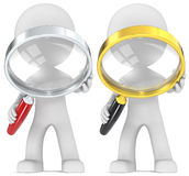 Magnifying Glass. Royalty Free Stock Photos