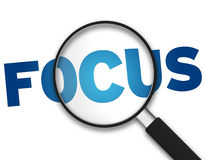 Magnifying Glass - Focus Royalty Free Stock Image