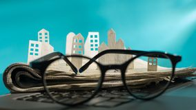 Concept of rent, search, purchase real estate. stock photography