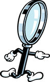 Magnifying Glass Guy Stock Photos