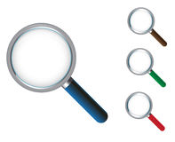 Magnifying glass icon Royalty Free Stock Image