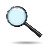 Magnifying glass icon. Illustration of magnifying glass icon Stock Photo
