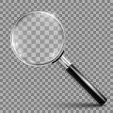 Magnifying glass instrument stock illustration