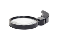 Magnifying glass. Isolated on white background Royalty Free Stock Photos