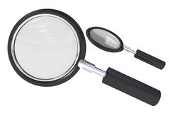 Magnifying Glass Isolated Royalty Free Stock Image