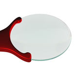 Magnifying glass isolated on a white background, 3D rendering Stock Photo