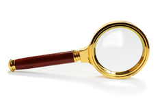 Magnifying glass Lupe Royalty Free Stock Photography