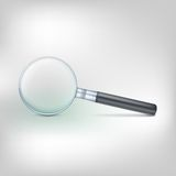 Magnifying glass, photo-realistic vector Royalty Free Stock Image