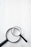 Magnifying glass, Search and discover symbol Stock Photography
