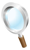 Magnifying glass search icon Royalty Free Stock Image