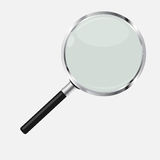 Magnifying Glass Search Icon Vector Illustration Stock Image