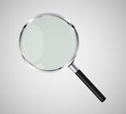 Magnifying Glass Search Icon Vector Illustration Royalty Free Stock Photo