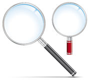 Magnifying Glass Set vector illustration