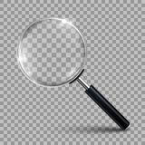 Magnifying glass - vector. Magnifying glass, tool – stock vector Stock Image