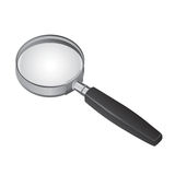 magnifying glass vector 2 Stock Image