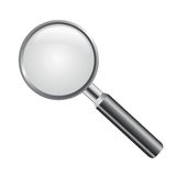 Magnifying glass vector Royalty Free Stock Image