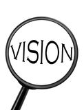 Magnifying glass Royalty Free Stock Image