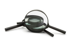 Magnifying glasses Royalty Free Stock Photos