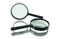 Magnifying Glasses Royalty Free Stock Photography