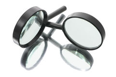 Free Magnifying Glasses Royalty Free Stock Images - 5424809
