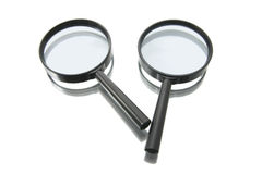 Magnifying Glasses Stock Photography
