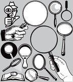 Magnifying Glasses Stock Images