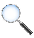 Magnifying lens Stock Photos