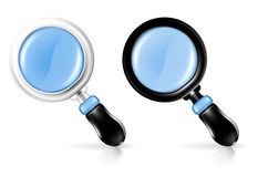 Magnifying lens Royalty Free Stock Image