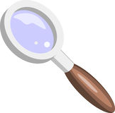Magnifying or Spy Glass Royalty Free Stock Images