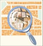 Magnifyinglass Stock Image