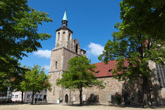 Magnikirche in Braunschweig Stock Images