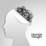 Magnitude of human thought Stock Images