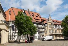 Magniviertel in Braunschweig Stock Images