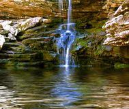 Magnolia Falls. In northwestern Arkansas Stock Photo