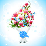 Magnolia Flower Bouquet Royalty Free Stock Photography