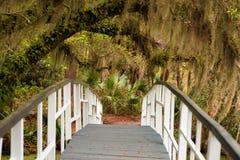 Magnolia Gardens Bridge Royalty Free Stock Images