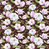 Magnolia pattern Stock Photo
