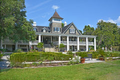 Magnolia Plantation and Gardens. CHARLESTON SC USA 06 25 2016: Magnolia Plantation and Gardens is a historic house with gardens It is one of the oldest royalty free stock images